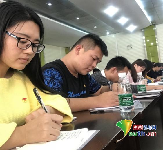 安徽大学研支团:学习十九大昂首新征程
