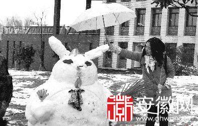 """雪后的合肥城""""雪人style""""欢乐袭校园(节选)"""