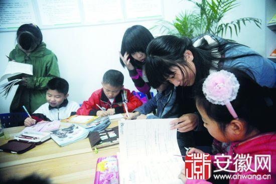 """安徽大学春晖学社""""希望课堂""""有了温馨港湾(图)"""