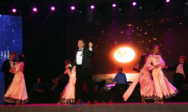 杨百翰大学青年大使歌舞团安大奏响《生命的乐章》